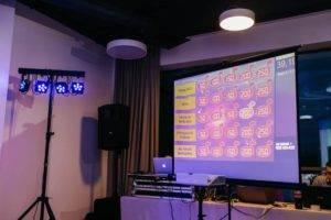 Компания «Исток Аудио» квиз на планшетах организация корпоративного мероприятия